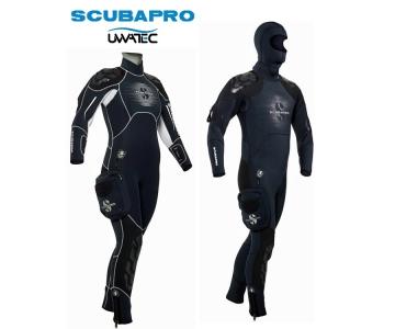 Neoprénový polosuchý oblek Scubapro Nova Scotia - 7,5mm
