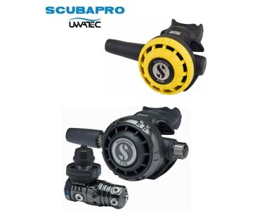 Dýchacia automatika Scubapro MK25 EVO/ G260 Black Tech/ R195 Octopus